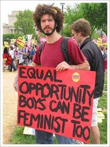 Anche i maschi ormai voglio essere femministi