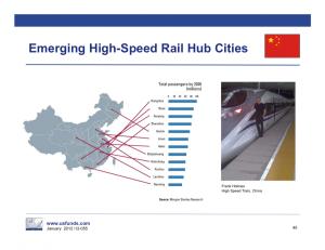 nuove stazioni alta velocità Cina